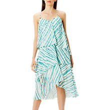 Buy Coast Montego Stripe Tiered Dress, White/ Multi Online at johnlewis.com