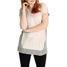 Buy Studio 8 Dawn Jumper, Pink/Grey Online at johnlewis.com