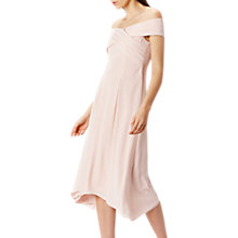 Buy Coast Ela Soft Midi Bridesmaid Dress, Blush Online at johnlewis.com