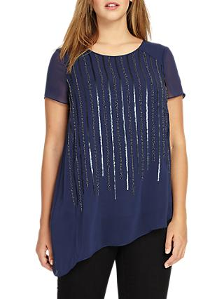 Studio 8 Tasha Top, Navy