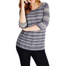 Buy Studio 8 Karice Knit Top, Navy/Grey Online at johnlewis.com