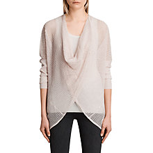 Buy AllSaints Itat Levita Shrug, Linen Online at johnlewis.com