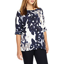 Buy Studio 8 Octavia Top, White/Navy Online at johnlewis.com