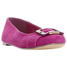 Buy Dune Heston Buckle Ballet Pumps Online at johnlewis.com
