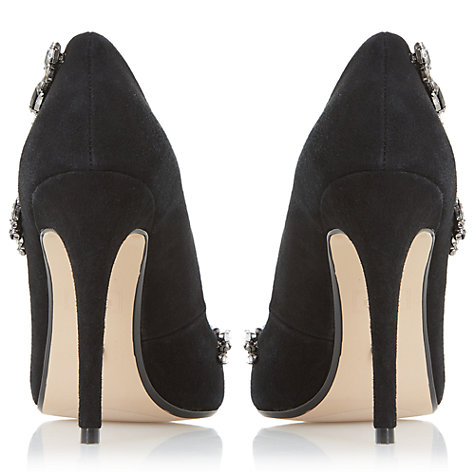Buy Dune Bestowed Jewelled Stiletto Heeled Court Shoes Online at johnlewis.com