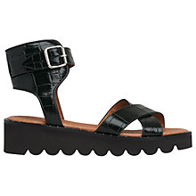 Buy Whistles Kingly Cross Strap Sandals Online at johnlewis.com