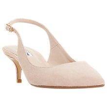 Buy Dune Casandra Kitten Heel Slingback Court Shoes Online at johnlewis.com