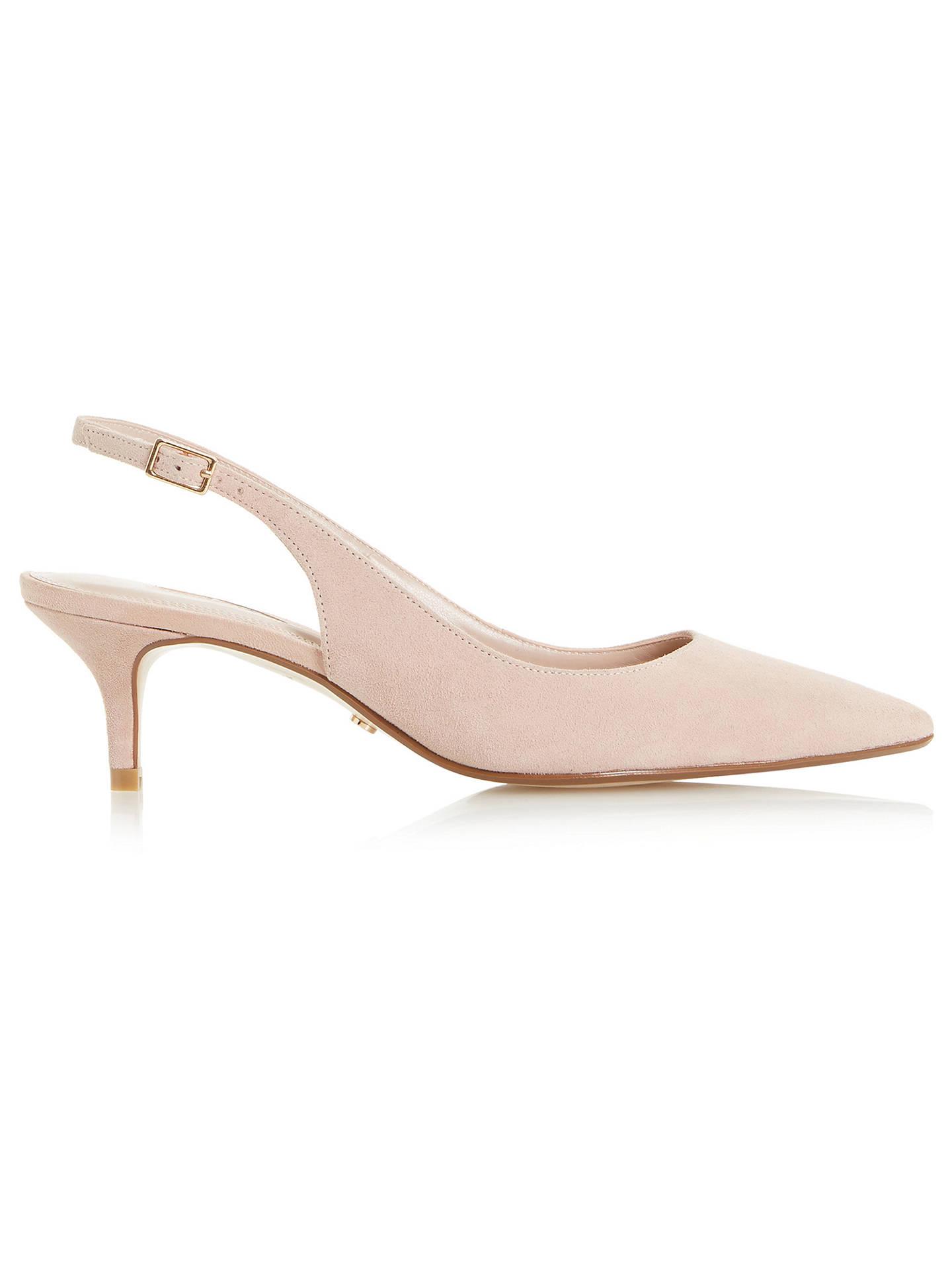 dfc7c0d714c84 Buy Dune Casandra Kitten Heel Slingback Court Shoes