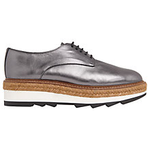 Buy Whistles Rex Flatform Brogues Online at johnlewis.com