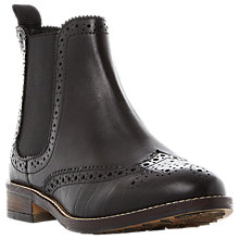 Buy Dune Quentons Brogue Chelsea Boots Online at johnlewis.com