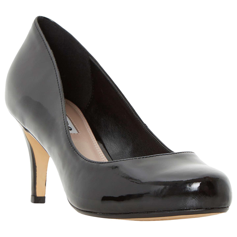 Dune Amelia Stiletto Heeled Court Shoes | Black at John Lewis