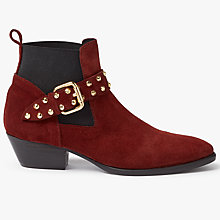 Buy Somerset by Alice Temperley Pawlett Studded Strap Chelsea Boots Online at johnlewis.com