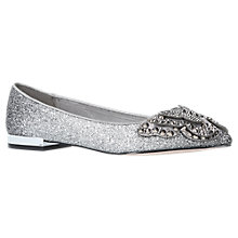 Buy Miss KG Nabeela Pointed Toe Embellished Pumps, Gunmetal Online at johnlewis.com
