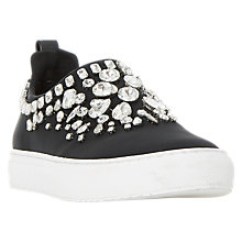 Buy Dune Eliha Jewel Embellished Trainers Online at johnlewis.com