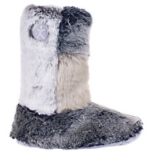 Buy Bedroom Athletics Florence Faux Fur Boot Slippers, Multi Online at johnlewis.com