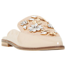 Buy Dune Gemily Embellished Pointed Toe Mule Loafers Online at johnlewis.com