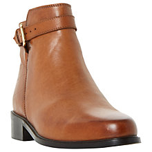 Buy Dune Poppy Block Heeled Ankle Boots Online at johnlewis.com