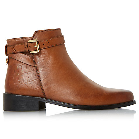 Buy Dune Poppy Block Heeled Ankle Chelsea Boots Online at johnlewis.com