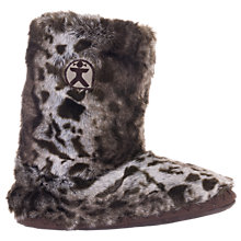 Buy Bedroom Athletics Cole Faux Fur Boot Slippers, Multi Online at johnlewis.com