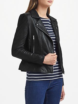 Y.A.S Sophie Leather Biker Jacket