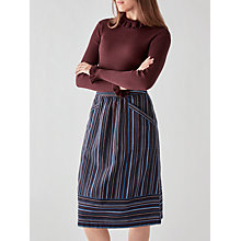 Buy Y.A.S Oda Jumper, Plum Online at johnlewis.com