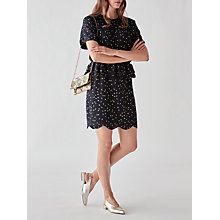 Buy Y.A.S Kail Dotted Dress, Night Sky Online at johnlewis.com
