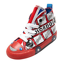 Buy Converse Chuck Taylor All Star Union Jack Hi-Top Trainers, Blue/Red/White Online at johnlewis.com