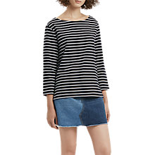 Buy French Connection Tim Tim Stripe Top Online at johnlewis.com