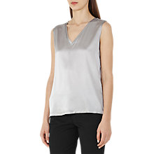 Buy Reiss Fi Silk Front Tank Top Online at johnlewis.com