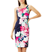 Buy Coast Jojo Cotton Shift Dress, Multi Online at johnlewis.com