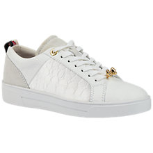 Buy Ted Baker Kulei Bow Lace Up Trainers Online at johnlewis.com