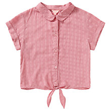 Buy Jigsaw Girls' Tie Front Shirt Online at johnlewis.com