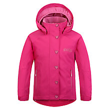 Buy Skogstad Children's Veoli 2-Layer Waterproof Jacket, Pink Online at johnlewis.com