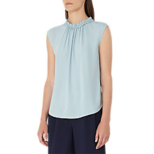 Buy Reiss Magda Gathered Tank Top, Allure Online at johnlewis.com