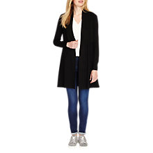 Buy Phase Eight Lili Longline Cardigan, Black Online at johnlewis.com
