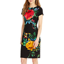 Buy Phase Eight Maddie Placement Print Dress, Multi Online at johnlewis.com
