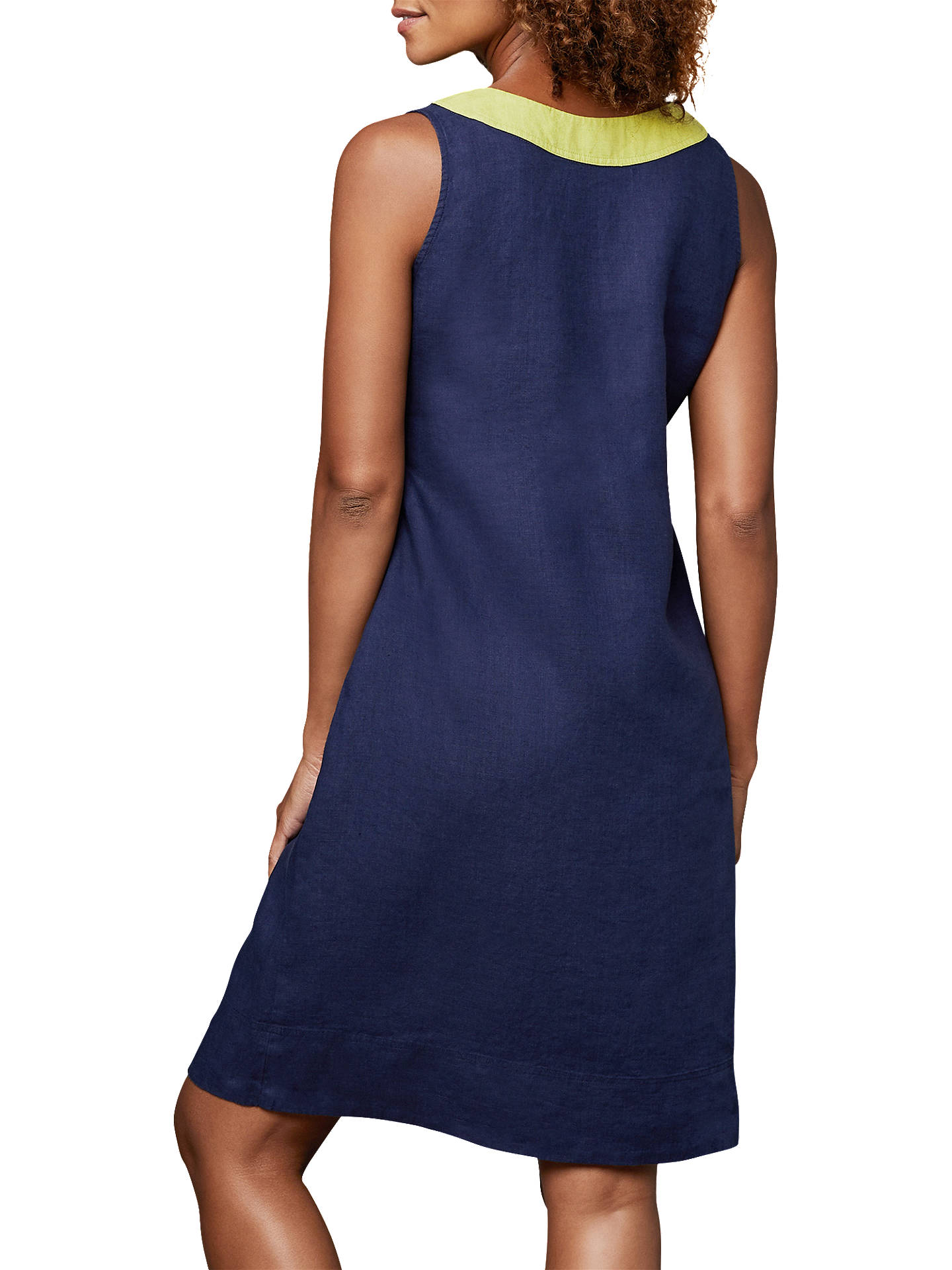 dea034df9e ... Buy East Linen Notch Neck Dress
