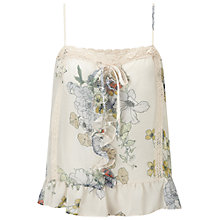 Buy Miss Selfridge Floral Lace Camisole, Multi Online at johnlewis.com
