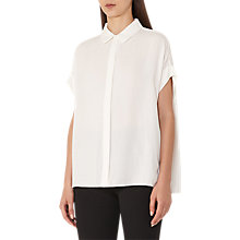 Buy Reiss Simi Short Sleeve Blouse, Off White Online at johnlewis.com