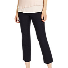 Buy Phase Eight Britt Crop Trousers, Navy Online at johnlewis.com