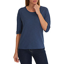 Buy Betty Barclay Cotton Top, Mood Indigo Online at johnlewis.com