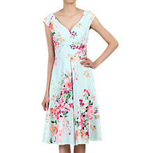 Buy Jolie Moi Floral Print Sweetheart Neck Dress Online at johnlewis.com