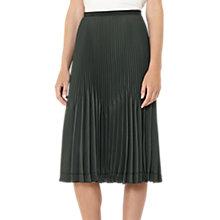 Buy Reiss Rosie Pleated Midi Skirt Online at johnlewis.com