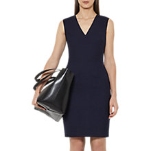 Buy Reiss Faulkner Tailored Dress, Navy Online at johnlewis.com