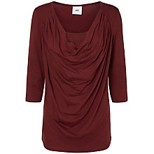 Buy Mamalicious Milana Nell 3/4 Jersey Maternity Nursing Top, Red Online at johnlewis.com