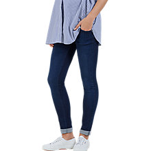 Buy Isabella Oliver Zadie Super Stretch Skinny Denim Maternity Jeans, Indigo Online at johnlewis.com