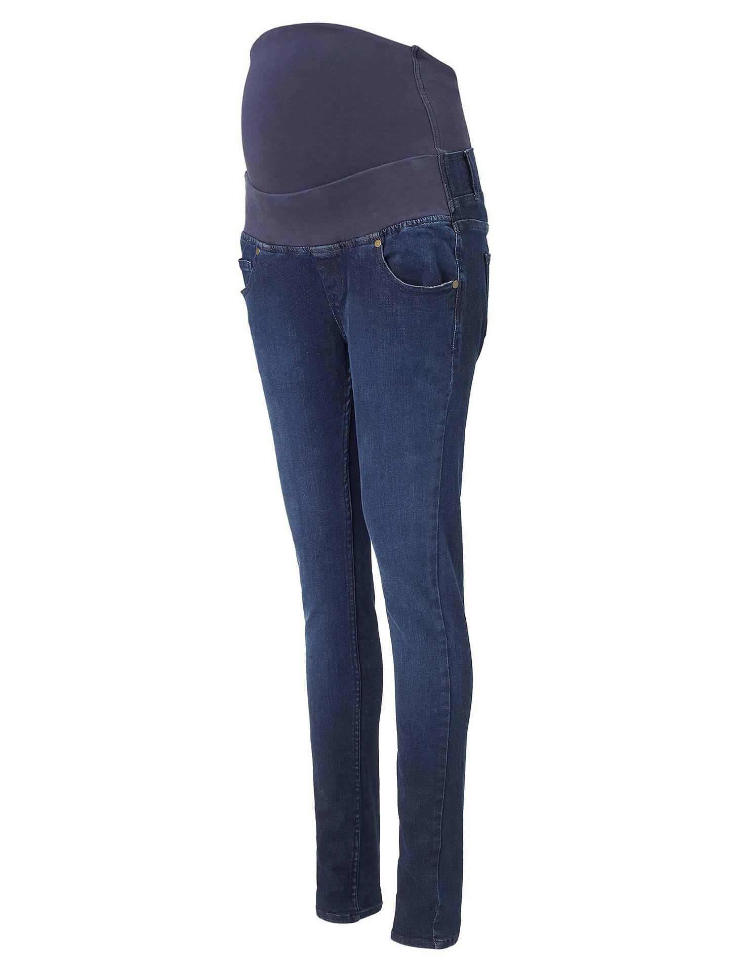 fa9f8d162ac46 ... Buy Isabella Oliver Zadie Super Stretch Skinny Denim Maternity Jeans,  Indigo, 4 Online at