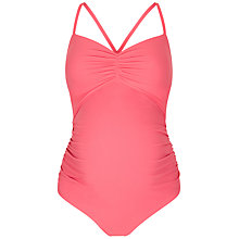 Buy Séraphine Rio Maternity Swimsuit, Coral Online at johnlewis.com