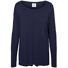 Buy Mamalicious Myna Nell Long Sleeve Maternity Nursing Blouse, Blue Online at johnlewis.com