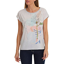 Buy Betty Barclay Blossom Top, Grey/Blue Online at johnlewis.com